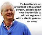 hard to win an argument