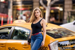 Mia Melano took a cab