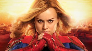 Captain Marvel cracklin some knuckles.jpg