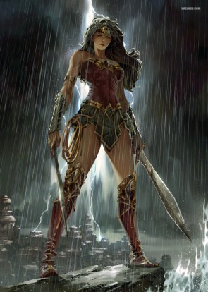 Wonder Woman by Kaelngu.jpg