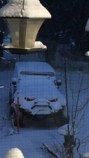 Angry Snow Jeep