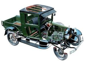 1929 FORD MODEL A PICK UP TRUCK
