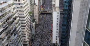 Photos Massive Protests in Hong Kong
