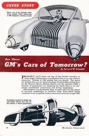 CARS OF TOMORROW