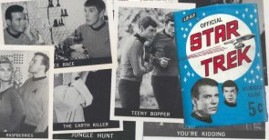 There's a good reason the first Star Trek trading cards are so rare — and so weird