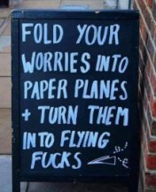 fold your worries