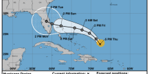 Yeah the forecast for Hurricane Dorian is a mess