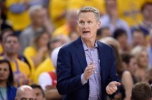 Steve Kerr Somebody could walk in the door in the gym right now and start spraying us with an AR15