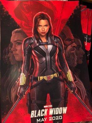 black widow movie poster 2020