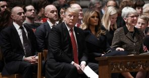 """Have We No Decency"" National Cathedral questions Americans silence over Trumps racism"