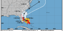 Hurricane Dorian is going to come very very close to Florida