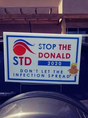 STD Stop The Donald 2020