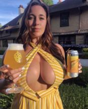 Busty Beer Lady