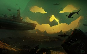 underwater skelly