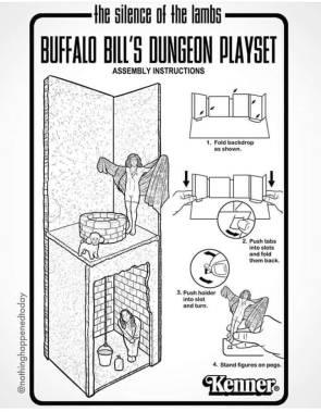 BUFFALO BILL'S DUNGEON PLAYSET