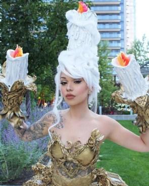 Lumier cosplay