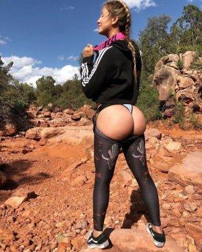 hiking butt