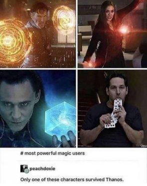 MCU magic users