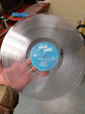 electric youth transparent disc