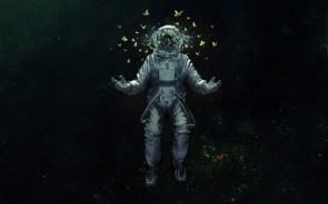 space butterflies
