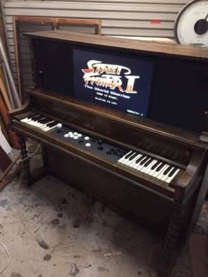 street fighter II piano