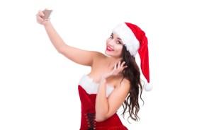 Smile for Christmas Selfie