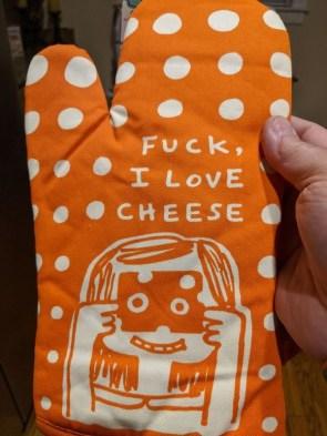 fuck I love cheese