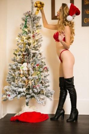 thigh high christmas