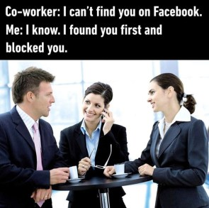 I can't find you on Facebook