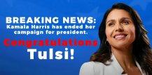Congratulations Tulsi