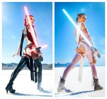 Joanie Brosas Star Wars cosplay butt