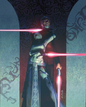 Dooku and Ventress – Art by Phil Szostak 2006
