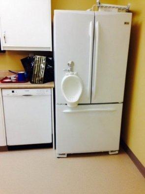 urinal fridge