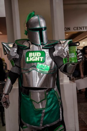 The Bud Light Lime Knight