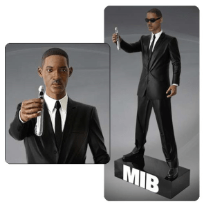 Men In Black 14 Scale Agent J 20-Inch Statue