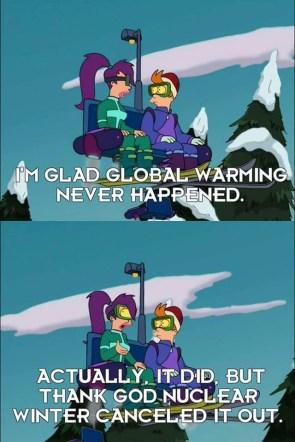 Global warming never happened