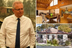 Protesters break into Oz PM's home & vow to 's in his pool' amid fire outrage