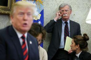 Bolton Says Trump Told Him Ukraine Aid Was Tied To Biden Investigation