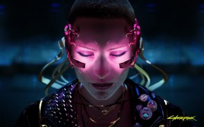 Cyber 2077 Pink Eyes