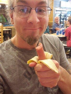 hot dog banana