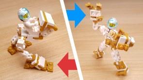Mini size Transformer Robot for mini figure vehicle and robot for mini fig