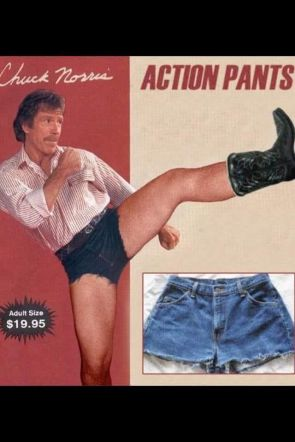 chuck norris action shorts