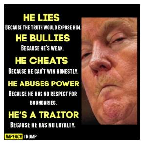 HE'S A TRAITOR
