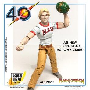 Preview of the Flash Gordon Movie Figure from Boss Fight Studio