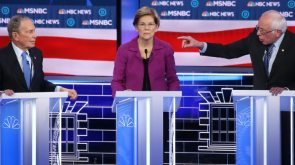 Warren's fiery performance lights up social media