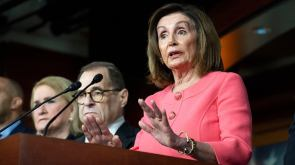 Pelosi says she'd be comfortable with Sanders at top of ticket