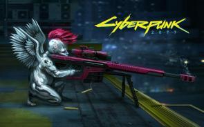 Cyberpunk sniper cherub