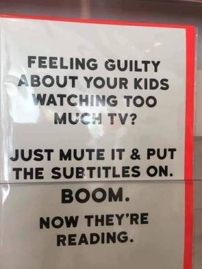 feeling guilty about your kids watching too much tv