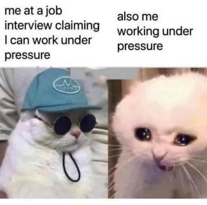 working under pressure