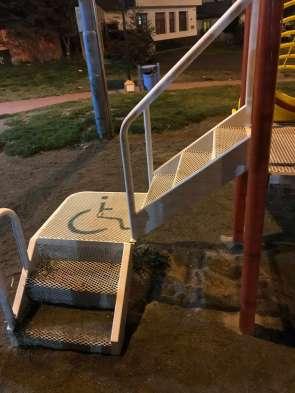 handicapped stalls